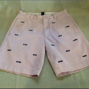J. Crew Fishbone Shorts